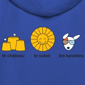 French course for sunny summer beach weather Kids' Shirts - Kids' Premium Hoodie