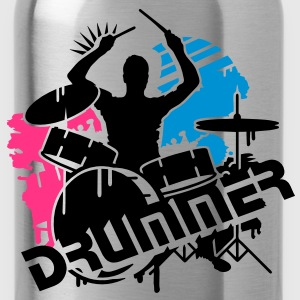 A drummer and his drums Kids' Shirts - Water Bottle