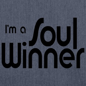 Soul Winner (JESUS-shirts) - Schultertasche aus Recycling-Material