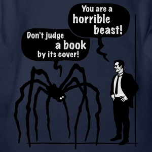 Cartoon: Horrible Beast! / Don't judge a book by its cover! Classic Teenager T-Shirt - Organic Short-sleeved Baby Bodysuit
