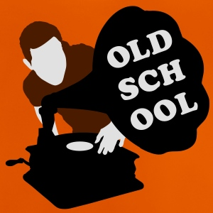 Old school DJ Tee shirts Enfants - T-shirt Bébé