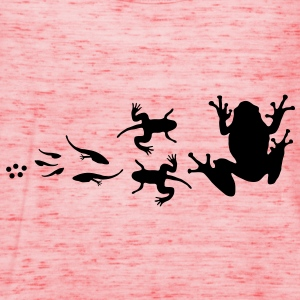 frog_evolution T-shirt bambini - Women's Tank Top by Bella