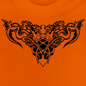 black dragons Tee shirts - T-shirt Bébé