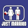JUST MARRIED !!! - T-shirt Premium Homme