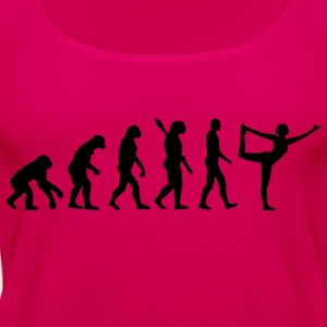 Evolution Yoga Kinder T-Shirts - Frauen Premium Tank Top
