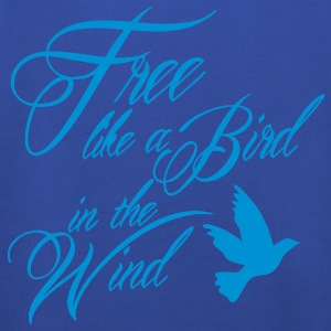 free like a bird in the wind Shirts - Kinderen trui Premium met capuchon