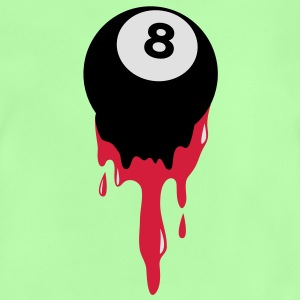 bleeding eight 8 ball from snooker or pool Kids' Shirts - Baby T-Shirt