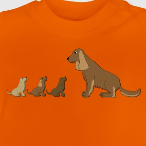 dogs family Shirts - Baby T-Shirt