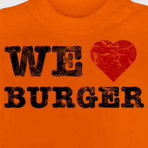 we_love_burger_vintage Shirts - Baby T-shirt