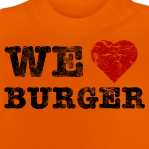we_love_burger_vintage T-shirts - Baby-T-shirt