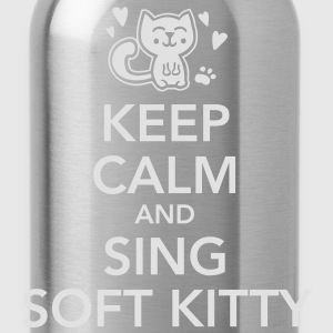 keep calm and sing soft kitty T-shirts - Vattenflaska