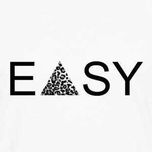 EASY Blck'n'White T-Shirts - Men's Premium Longsleeve Shirt