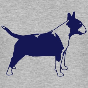 Bullterrier Side 1c Sweat-shirts - Tee shirt près du corps Homme