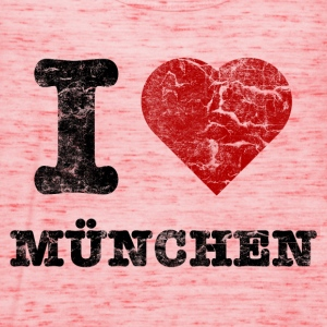 i_love_muenchen_vintage Shirts - Women's Tank Top by Bella