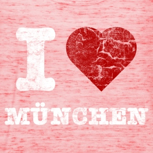 i_love_muenchen_vintage_hell Shirts - Women's Tank Top by Bella