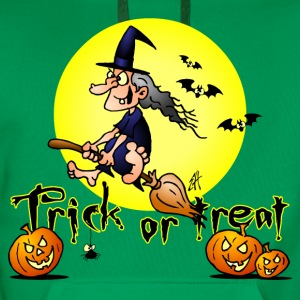 Halloween, Trick or treat Shirts - Men's Premium Hoodie