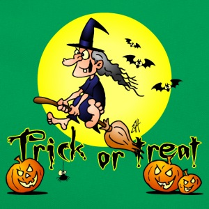 Halloween, Trick or treat Skjorter - Retro veske