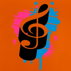 A clef as a graffiti Shirts - Baby T-Shirt