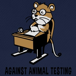 Against Animal Testing - Baseball Cap