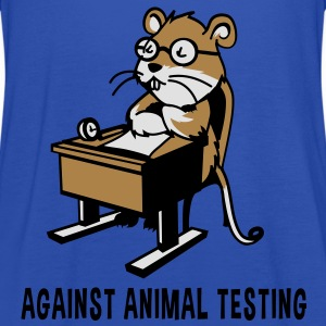 Against Animal Testing - Women's Tank Top by Bella