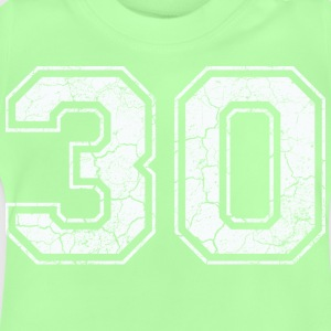 30 in white in the used look Shirts - Baby T-Shirt