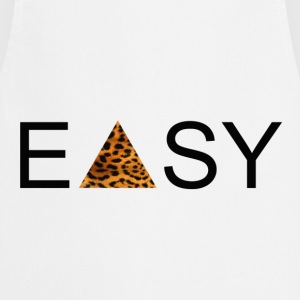 EASY Blck'n'Leopard T-Shirts - Cooking Apron