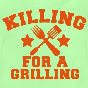 Cook Chef KILLING for a GRILLING MEAT steak BBQ Shirts - Baby T-Shirt