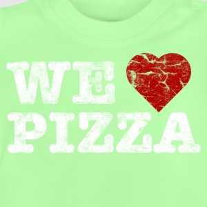 we_love_pizza_vintage_hell Camisetas - Camiseta bebé