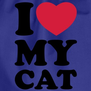 I love my cat Shirts - Sacca sportiva