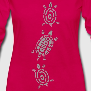 Turtle Decor Shirts - Women's Premium Longsleeve Shirt