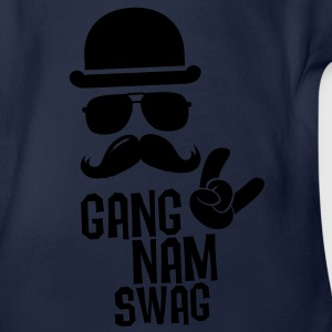 Like a Gangnam swag style moustache boss t-shirts Tee shirts - Body bébé bio manches courtes