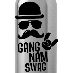 Like a Gangnam swag style boss moustache t-shirts Shirts - Water Bottle