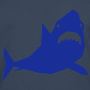 requin cartoon shark design papier desig Tee shirts - T-shirt manches longues Premium Homme