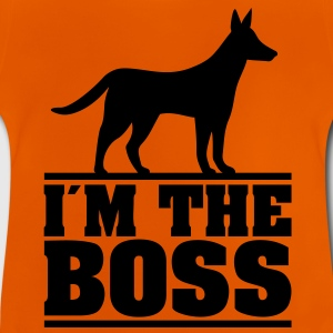 I am the boss! * Logo for hundeejere. hunde T-shirts - Baby T-shirt