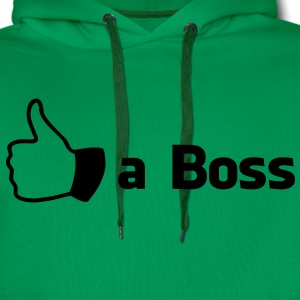 Like a Boss Shirts - Men's Premium Hoodie