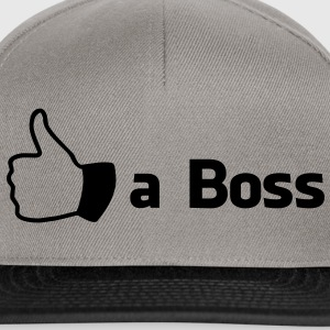 Like a Boss Shirts - Snapback cap