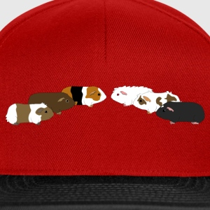 six guinea pigs 2 Tee shirts - Casquette snapback