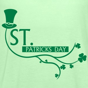 st., patricks, day, ireland, beer,dublin,cylinder - Women's Tank Top by Bella