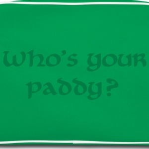 Who's your paddy St. Patricks day T-Shirts - Retro Tasche