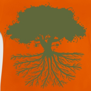 tree roots green Shirts - Baby T-Shirt