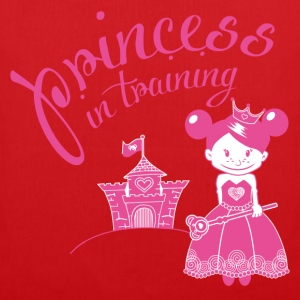 princess in training T-Shirts - Stoffbeutel