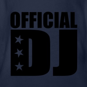 official DJ T-Shirts - Baby Bio-Kurzarm-Body