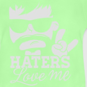 Like a haters love me sprüche moustache boss sir T-Shirts - Baby T-Shirt