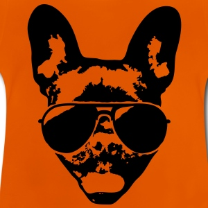 French bulldog with sunglasses Shirts - Baby T-Shirt