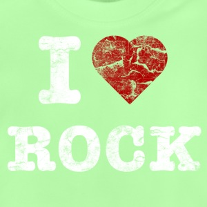 I Love Rock vintage light Shirts - Baby T-Shirt