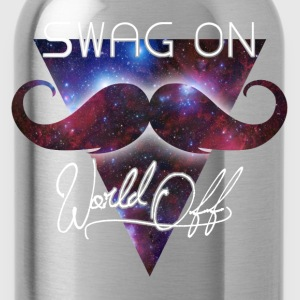 world off swag on Shirts - Drinkfles
