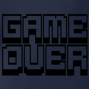 game over T-Shirts - Baby Bio-Kurzarm-Body