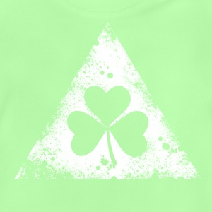 like a irish st. patricks day hipster triangle Tee shirts - T-shirt Bébé