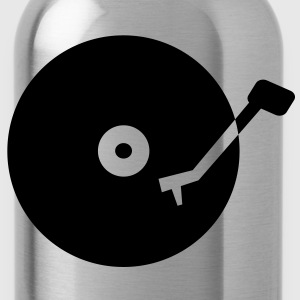 Turntable T-Shirts - Trinkflasche
