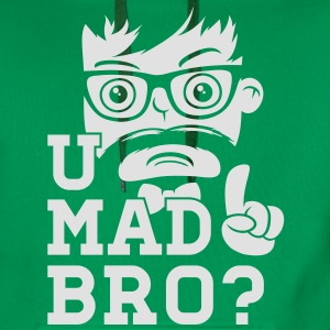 Like a cool you mad story bro moustache Tee shirts - Sweat-shirt à capuche Premium pour hommes